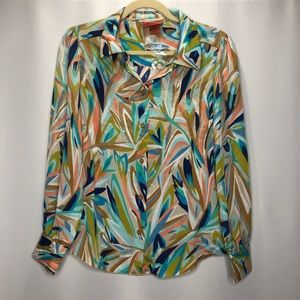 NWOT MISSONI for Target Colorful Blouse